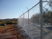 2016 ODM quickly and easily be installed construction chain link fencing for border fence