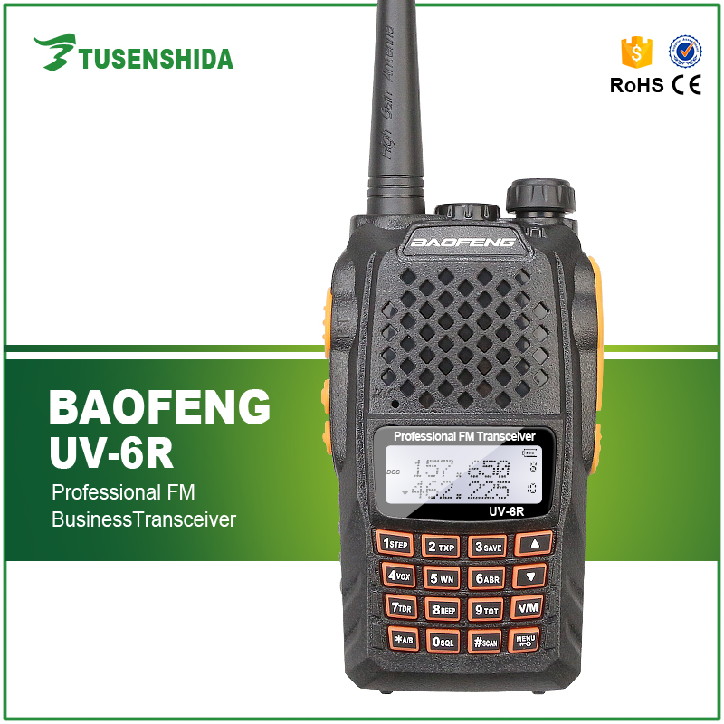 Amateur Baofeng Two Way Radio for handheld ssb transceiver Communication UV-6R