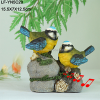 Decor resin birds make sound for sale from China