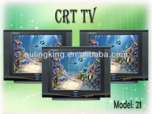 21inch normal flat crt tv cathode ray tube tv