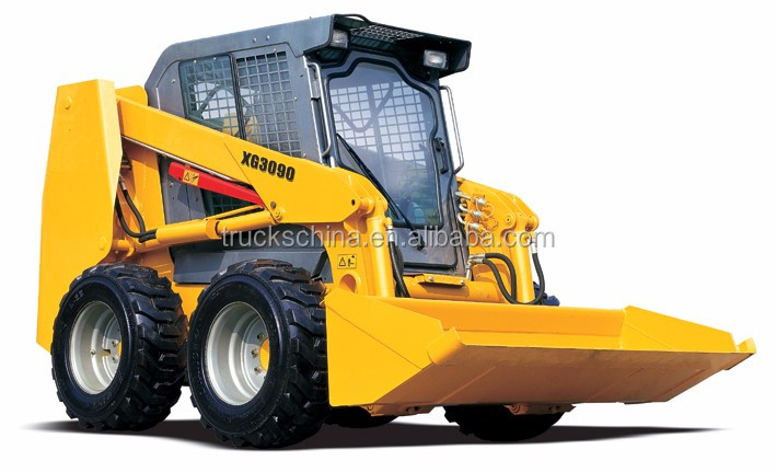 XG3090 0.5m3 Bucket Capacity Mini Skid Steer Loaders For Sale