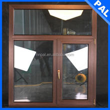British style vertical window fans With triple glass