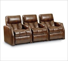 Home Meridian Marquee Chestnut with Power Recline