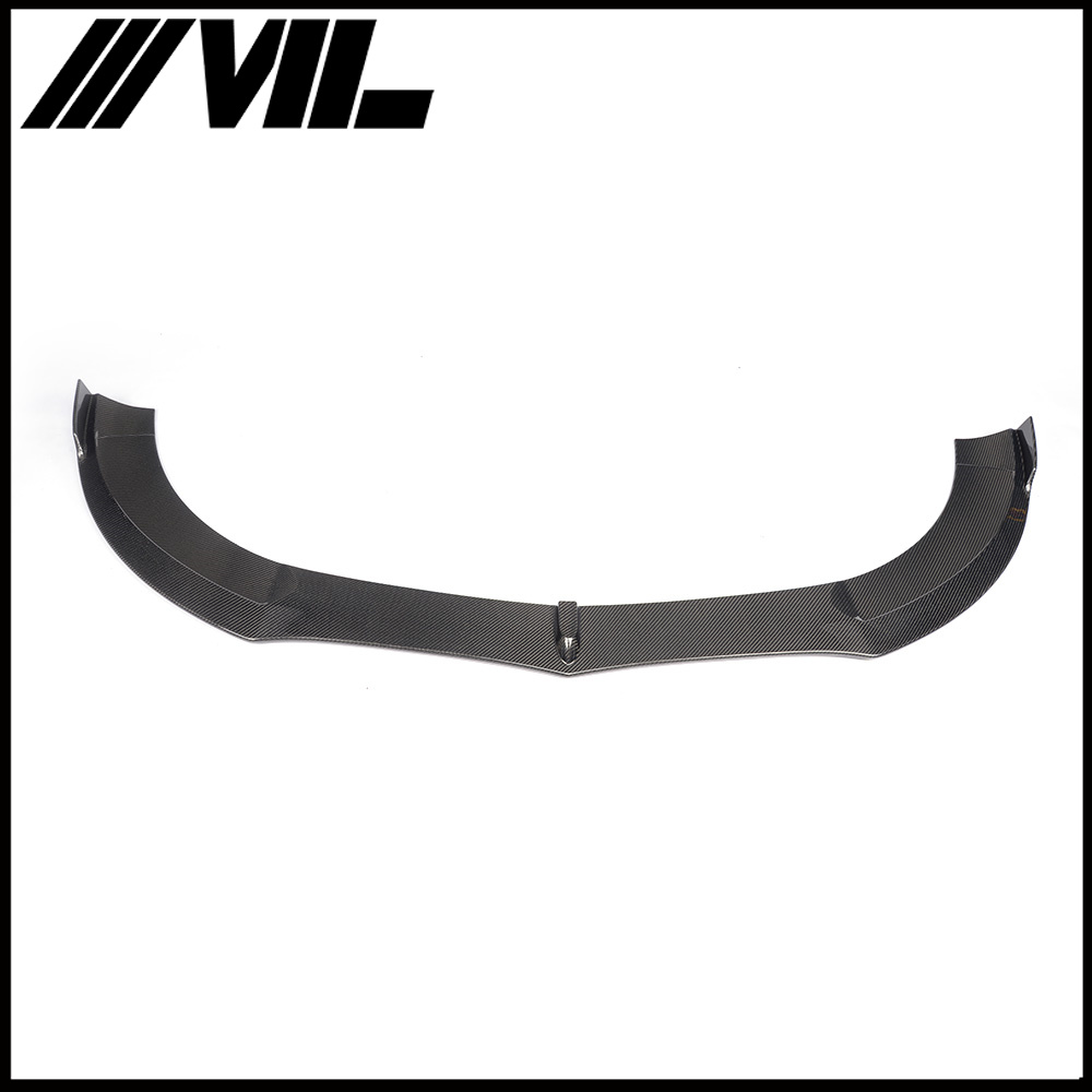 Carbon Car Front Bumper Skirt End Spoiler for Mercedes W218