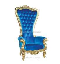 Hot Sale factory price Luxury High Back wedding throne chairs