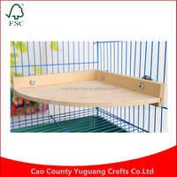 Custom Small pet Hamsters toy pie wood chinchillas pedal platform cages