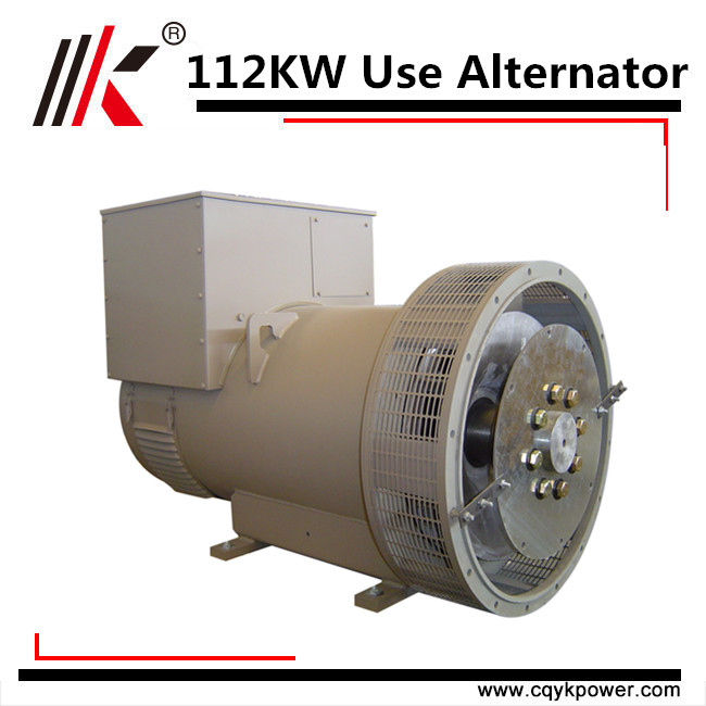 112kw 140kva brushless stamford dynamo with avr three phase output type stc alternator
