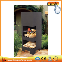 Outdoor steel chiminea /patio heater/BBQ grill