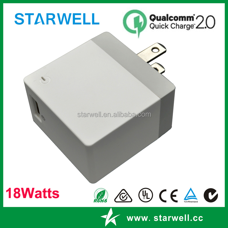 good quality 18W quick charger QC 3.0 USB charger