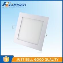 High quality wholesale prices 6W - 25W round and square recessed led panel light price list