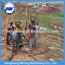 China popular portable water well drilling rig for sale Hengwang brand water well drilling rig for sale