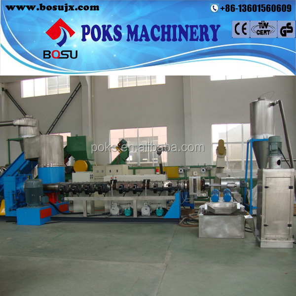 professional manufacture plastic film recycling granulator
