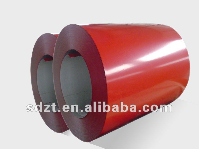 Manufacturer GI color coated steel coil price for Home Appliance