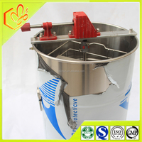 beekeeping appliances 2 frames manual honey extractor from China