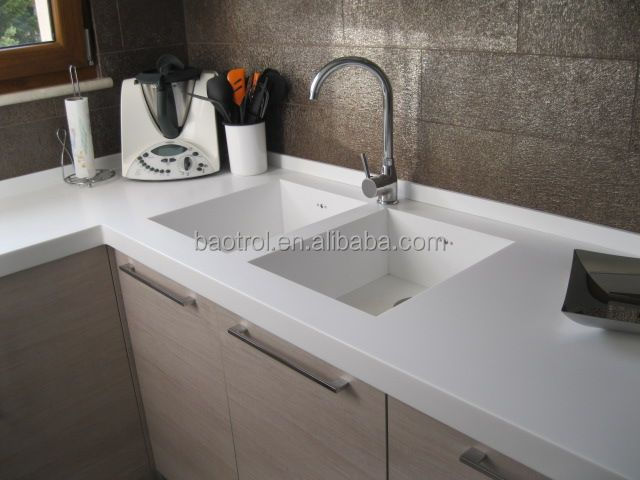 2014 New Artificial Marble Molded Sink Countertop