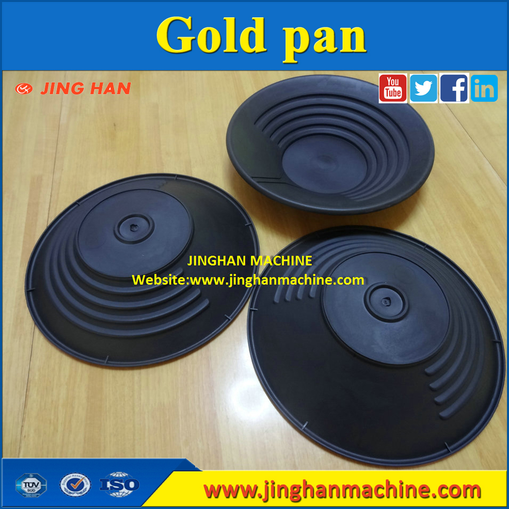 Plastic gold pan for river sand gold washing