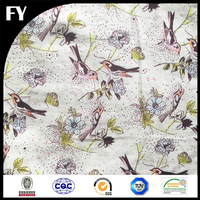 Factory direct hot sale digital custom print cotton fabric wholesale