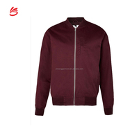 Custom high quality poly/cotton bomber jacket men wholesale