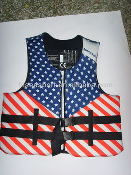 Hot sale, high quality, neoprene, nylon, elastic PU, lucra life jacket foam