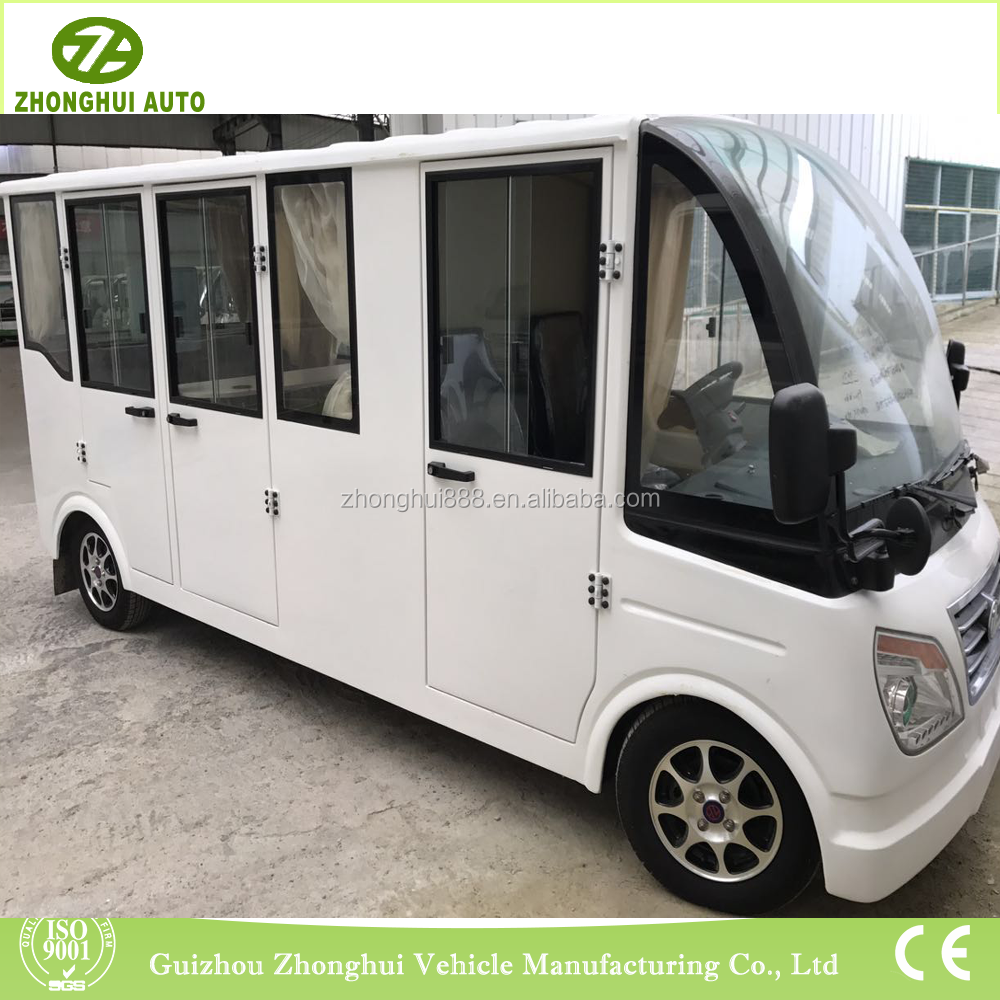 Electric customized 11 seats for official conference used vehicle