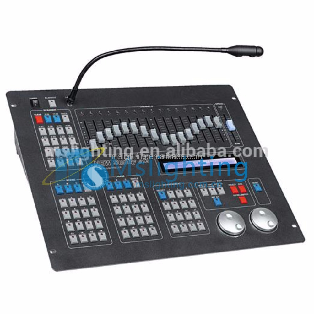 Professional stage light DMX 512 sunny cheap midi dj controllers