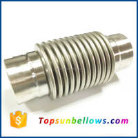 Steam pipe welded 321 bellow type stainless steel expansion joint