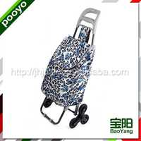 shopping trolley barrel shape travel bag