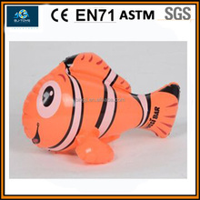 promotional pvc inflatable fish sea fish