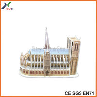 World Famous Building Architecture 3D Puzzle
