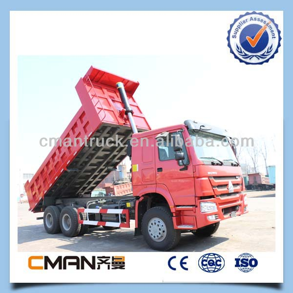 China 25T 10wheeler stone transport howa tippers from china