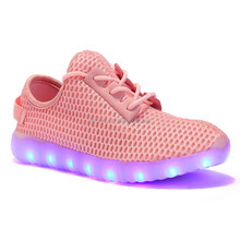 Casual led shoes light shoes wholesale light weight kids led shoes