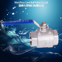 2PC Heavy Type Stainless Steel Ball Valve 1000PSI
