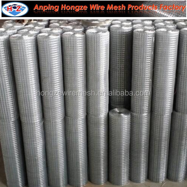 16 gauge 1 inch Galvanized Welded Wire Mesh