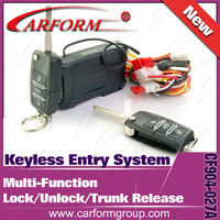 long distance control car passive keyless entry system in car alarms with universal remote