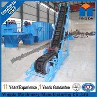 Inclined used rubber conveyor belt for mining industry