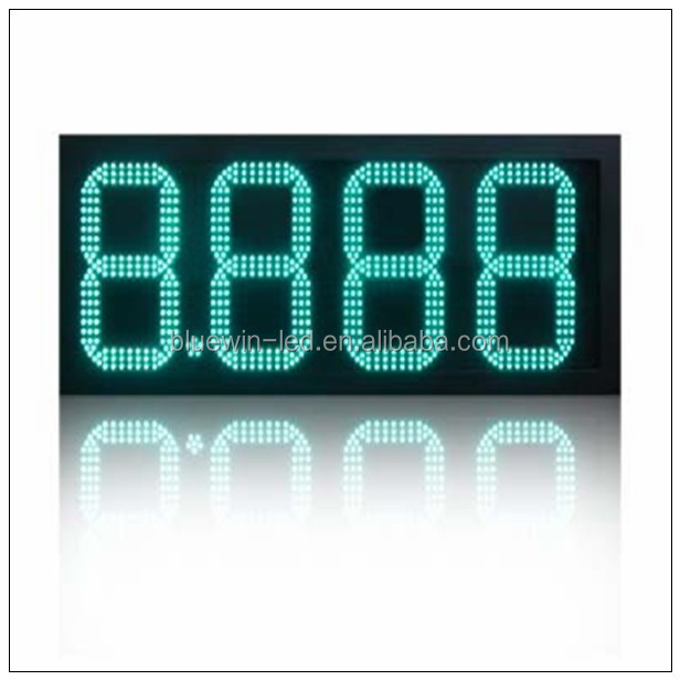 Custom led neon sign , p6 outdoor advertising led screen board display used led sign for sale gas price changer