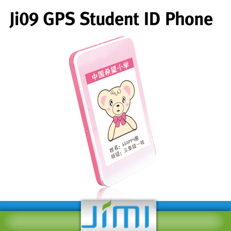 JIMI Big Keyboard Mobile Phone For Kids Pear Phone For Sale GPS Tracker With SOS Alarm Platform Ji09