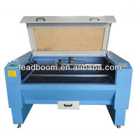 Strong cutting force laser cutting engraving machine for jean/gold/glass
