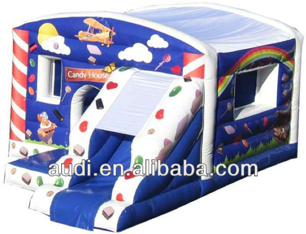 Inflatable Candy House Jump n Slide
