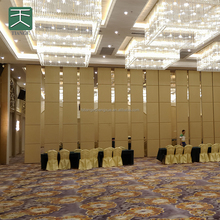 Commercial partition wall hanging banquet hall partition