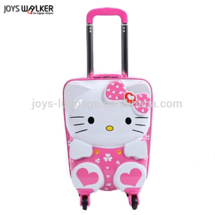 3d Hello Kitty Abs/pc Kid's Trolley Luggage Four Wheeled Kid's ...