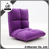 E-Skarner gorgeous purple violet deisgn comfortable lazy sofa