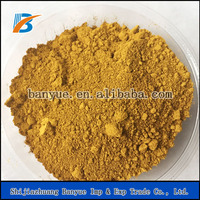 Factory direct sale Iron Oxide yellow and Iron yellow pigments for brick-(free sample)