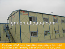 Popular low cost construction site prefab panel house