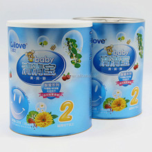 airtight custom baby milk powder packaging box