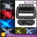 V31 Channels Dmx512 Control Unlimited 360 Roller Moving Head Light 4X25W Super Beam 4 In 1 Spot Stage Light