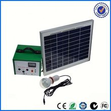 mini 100w solar system for phone and light portable solar power