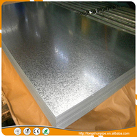 quality hot dipped Zinc coating steel galvanized plain steel plates