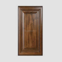 American Cherry Wood Flower Moulding Kitchen Doors