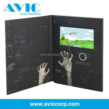 2.4,2.8,4.3,5,7,10.1inch TFT lcd screen video greeting card business invitation video electronic card